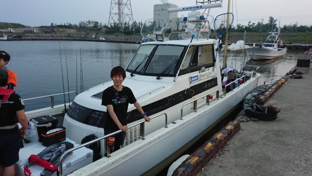 オフショアジギング船