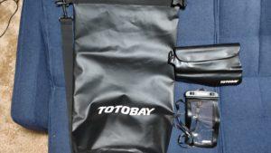 撮影機材運搬用防水バッグ