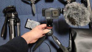 カメラミニ三脚スタンド