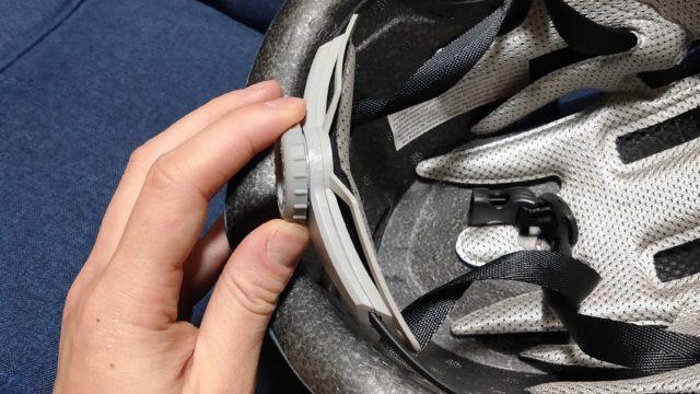 XINDA 釣り用ヘルメットの調整ベルト