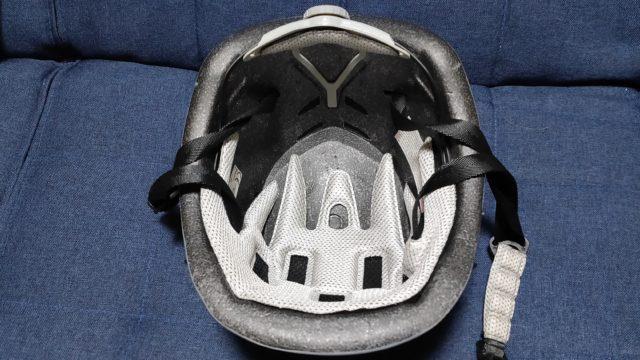 XINDA 釣り用ヘルメット裏側