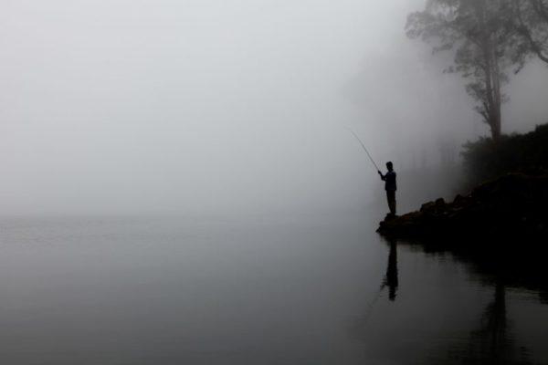 釣れない釣り人