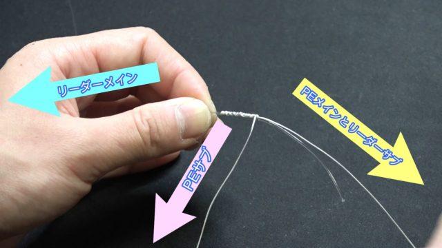簡単FGノットの結び方を解説