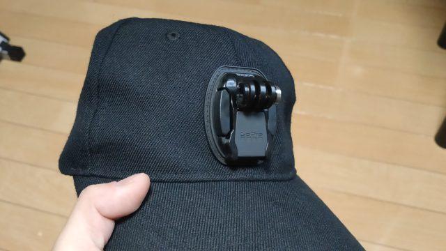 ゴープロ野球帽子マウントマウントベース部